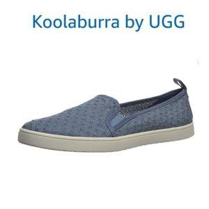 Koolaburra by Uggs Kids' K Kellen Slip on Sneakers